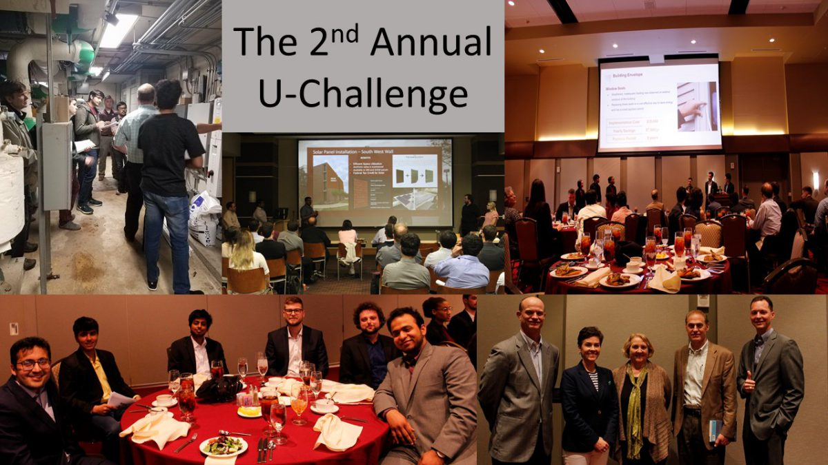 Compilation of several U-Challenge pictures