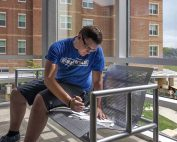 On-Campus residents studying in a residence hall