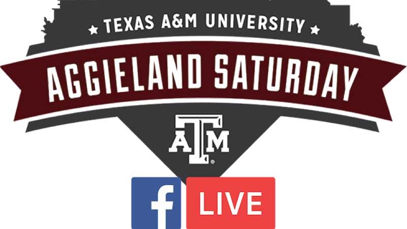 Aggieland Saturday Housing Presentations on FB LIVE