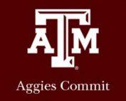 Aggies Commit Logo