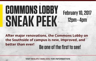 Commons Sneak Peek Announcement Header