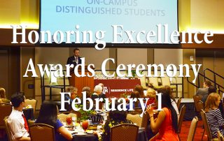 Honoring Excellence Awards Ceremony