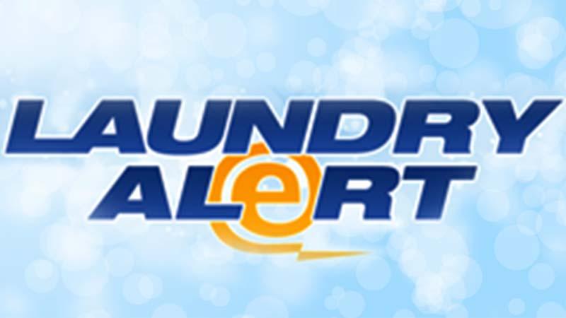 Laundry Alert App Header