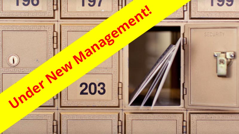 Mail Services Announcement Header