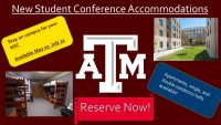 New Student Conference Accommodations Header