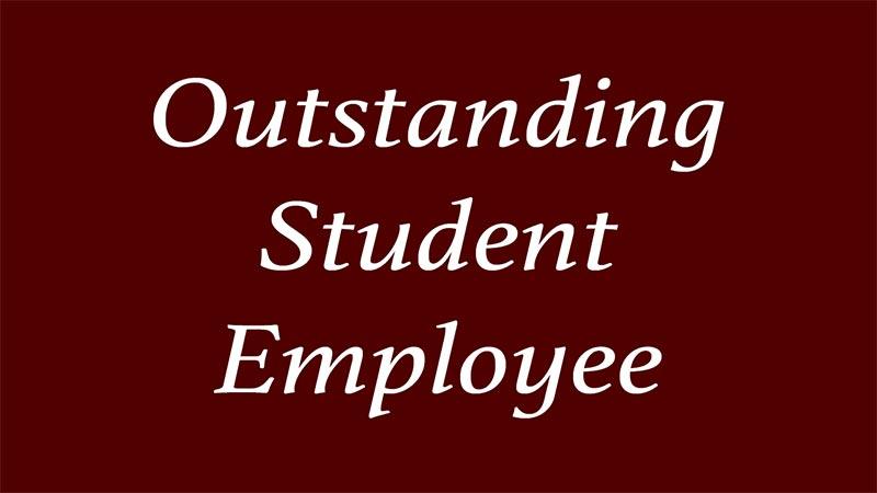 Outstanding Student Employee Header