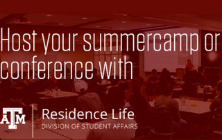 Host Your Summer Camp or Conference with Residence Life