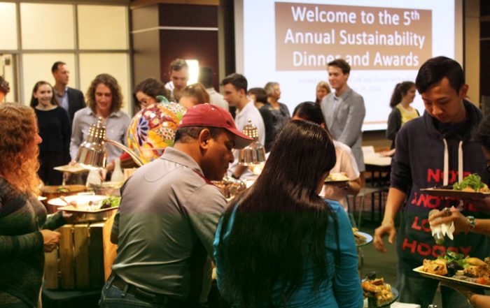 Attendees of the 5th Annual Sustainability Dinner