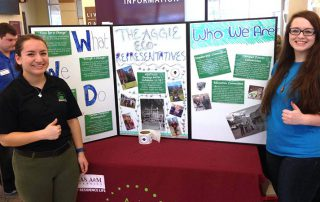 Sustainability U-Challenge and Aggieland Saturday Announcement Header