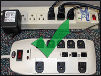 Acceptable Power Strips