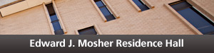 Mosher Residence Hall Button