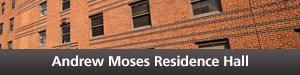 Moses Residence Hall Button