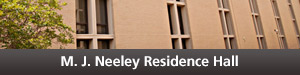 Neeley Residence Hall Button