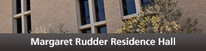 Rudder Residence Hall Button
