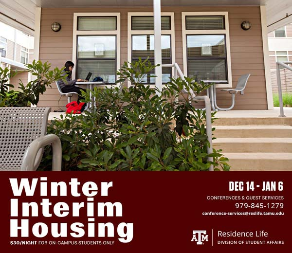 Register for Winter Interim Housing
