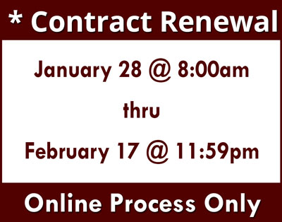 Contract Renewal 2018