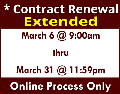 Contract Renewal 2019 Extended