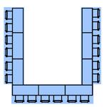 U-Shaped Style Layout
