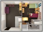Davis-Gary Apartment Floor Plan