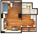 Hullabaloo Hall Double Floor Plan