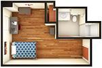 Hullabaloo Hall Single Floor Plan