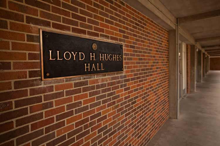 Hughes Hall namesake
