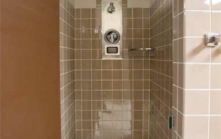 Corps Hall Community Bathroom Shower Stall