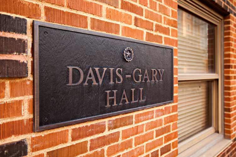 Davis-Gary Hall namesake