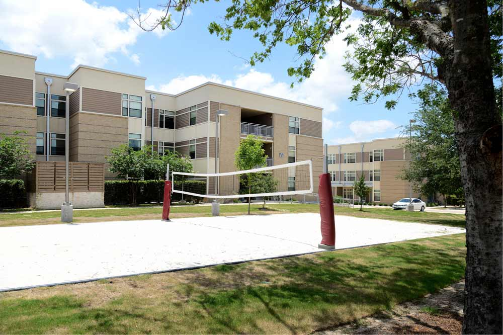 Gardens Volleyball Court