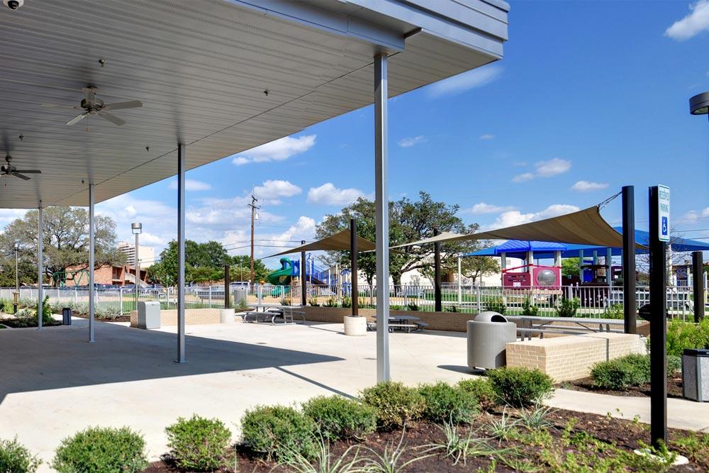 Gardens Activity Center Patio & Playground