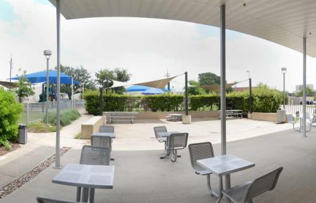 Gardens Apartments Activity Center Patio and Park