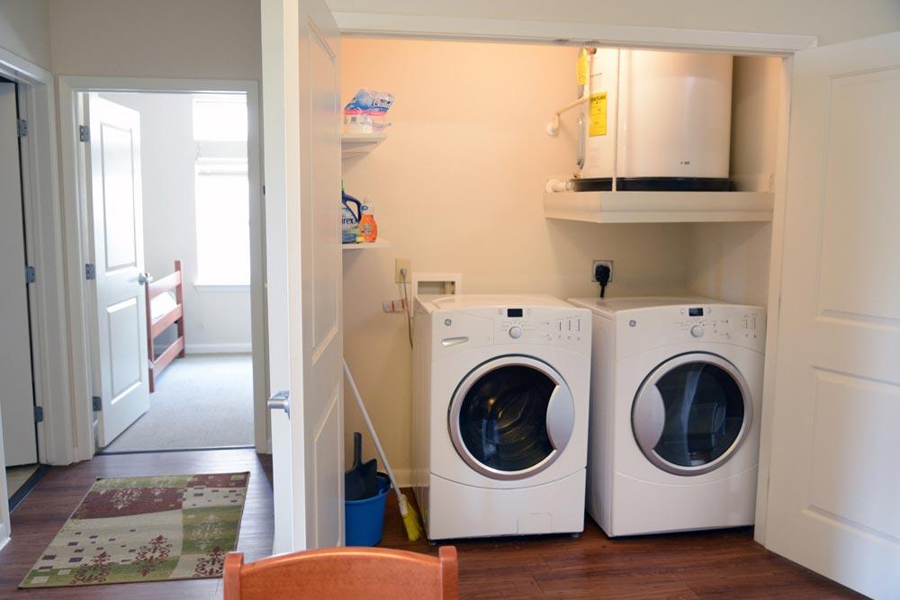 Gardens In-Apartment Laundry Closet