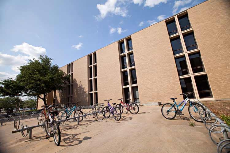 Lechner exterior from bike racks