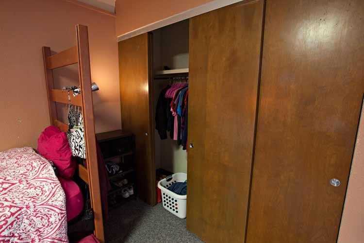 Neeley Hall closets