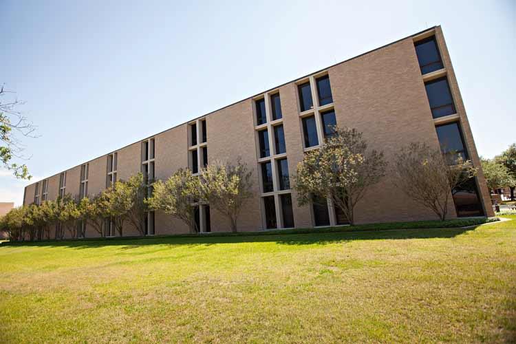 Rudder Hall exterior
