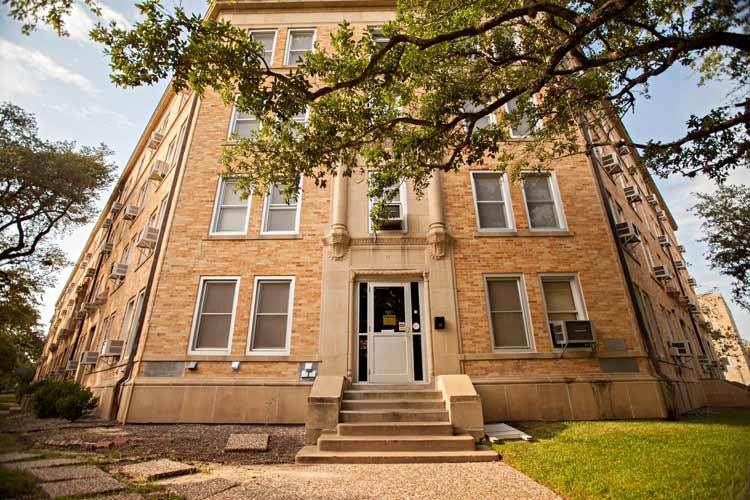Hart Hall exterior entrances