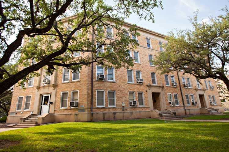 Hart Hall exterior from distance