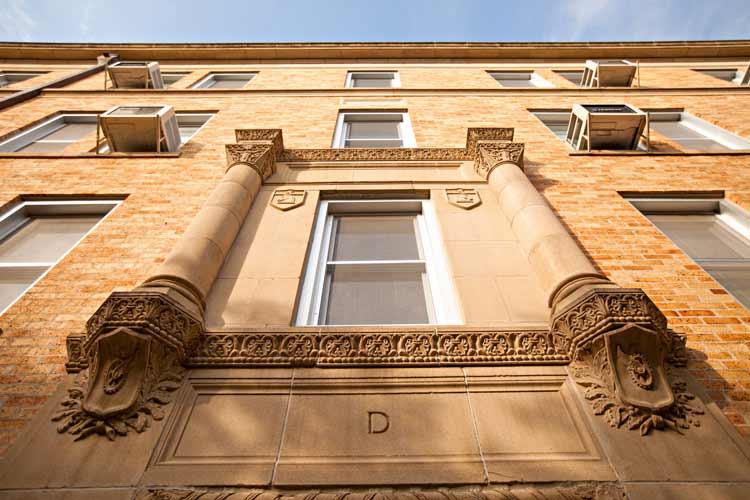 Hart Hall exterior at angle