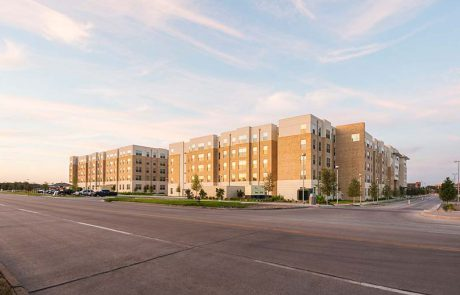 White Creek Apartments Exterior from Discovery Drive