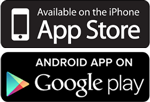App Store & Google Play Icons