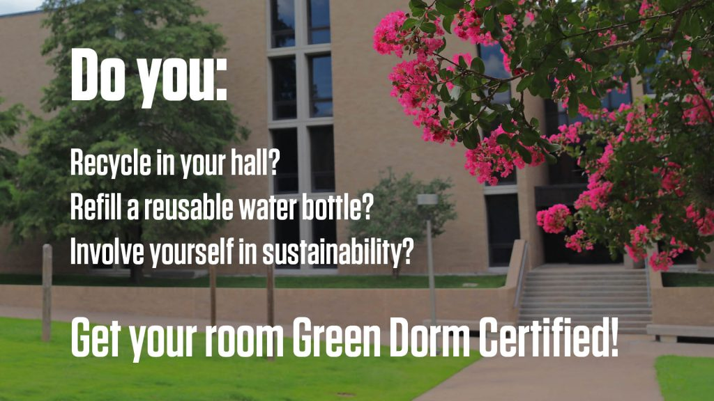 Find out more about Green Dorm Certification
