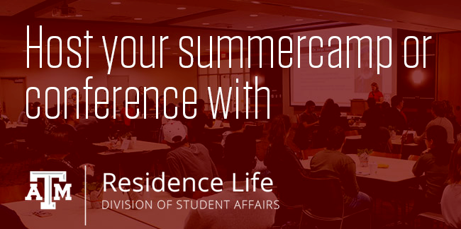 Host Your Summer Camp or Conferce with Residence Life